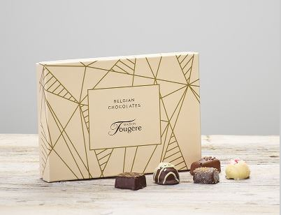 115g Maison Fougere Belgian Chocolates: Booker Flowers and Gifts