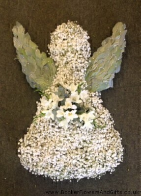 Angel Funeral Flowers: Booker Flowers and Gifts