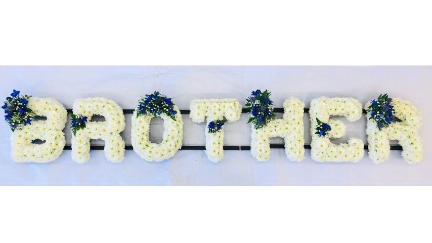 BROTHER Funeral Tribute: Booker Flowers and Gifts