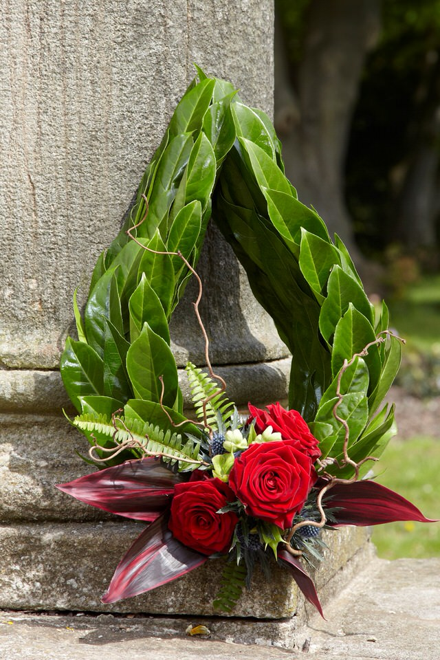 Bespoke Chaplet Funeral Flowers: Booker Flowers and Gifts
