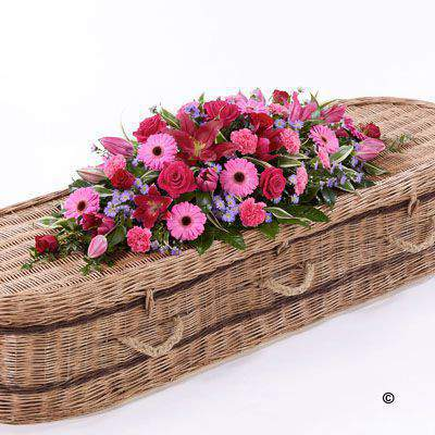 Classic Selection Casket Spray Large: Booker Flowers and Gifts