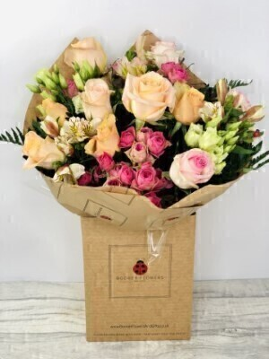 Darling Rose Luxury Bouquet: Booker Flowers and Gifts
