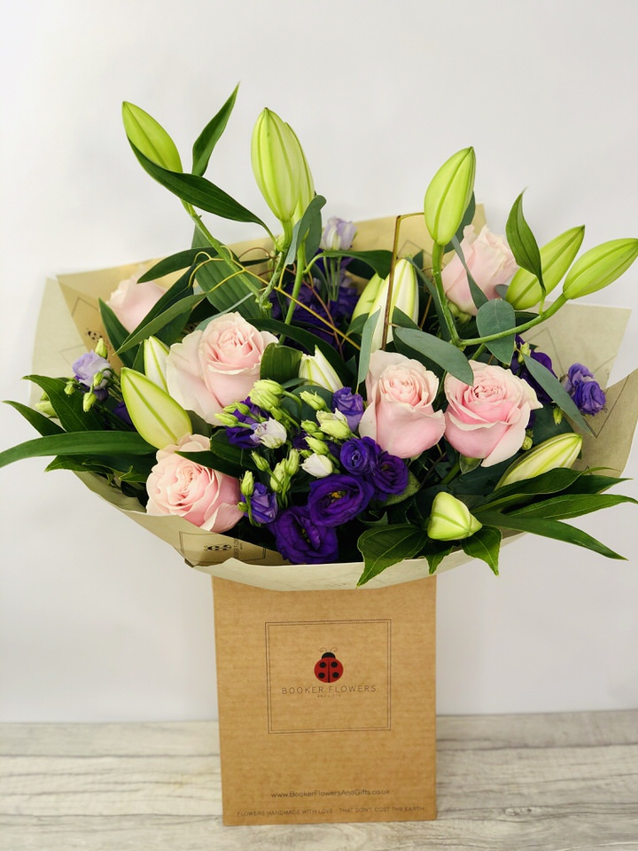 Beautiful Flowers in Water