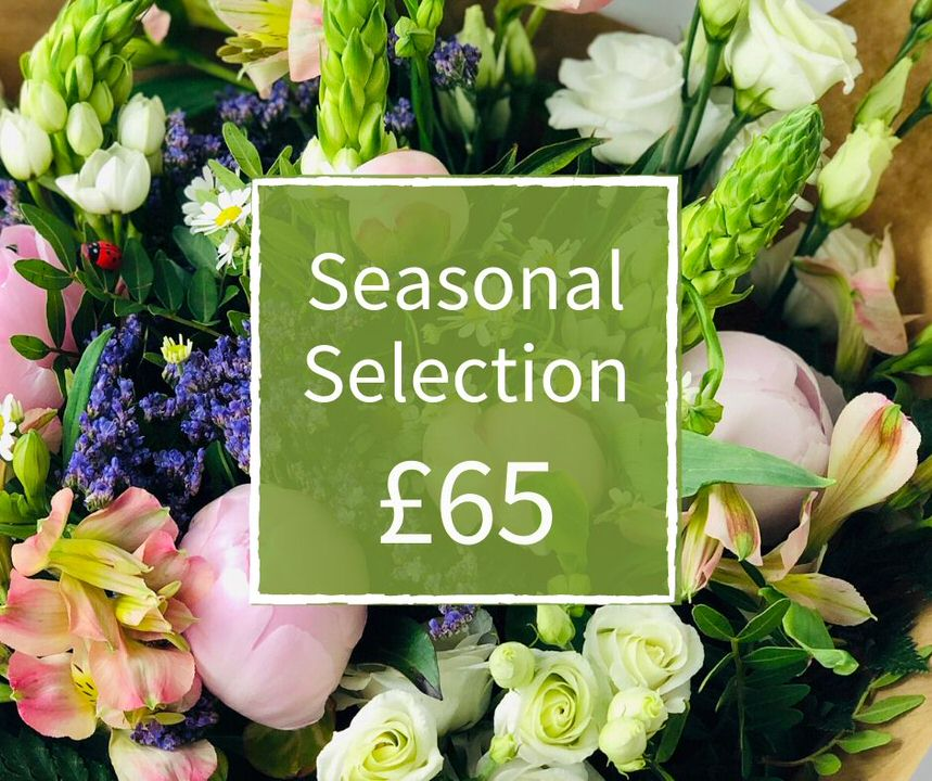 Florist Choice 65 - Seasonal Handtied Bouquet: Booker Flowers and Gifts