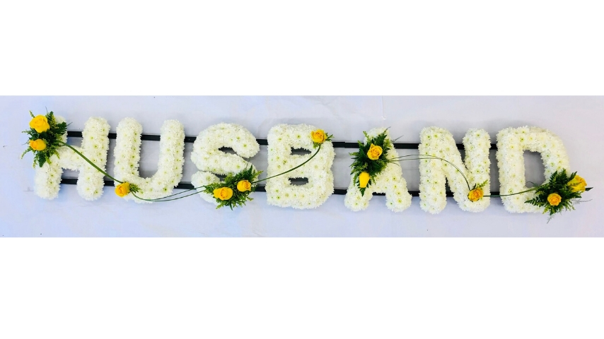 HUSBAND Funeral Tribute: Booker Flowers and Gifts