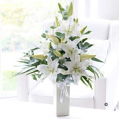 Large Thinking of You Vase: Booker Flowers and Gifts
