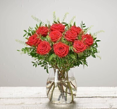 Scarlet Surprise Red Roses: Booker Flowers and Gifts