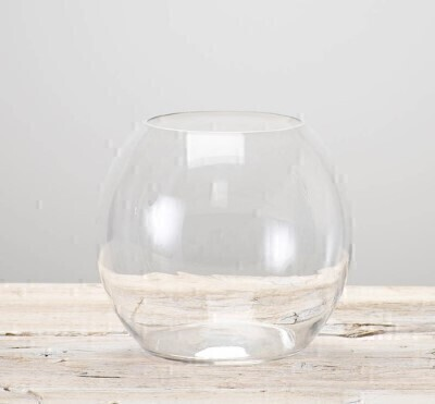 Stylish Globe Vase: Booker Flowers and Gifts