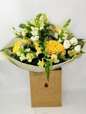 Tantalizing Topaz November Birthday Flowers: Booker Flowers and Gifts