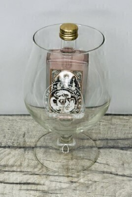 The Three Graces Rose Gin and Glass: Booker Flowers and Gifts