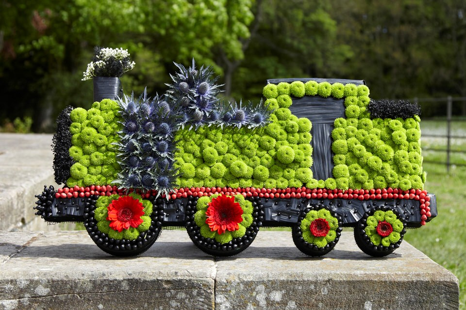 Train Tribute: Booker Flowers and Gifts