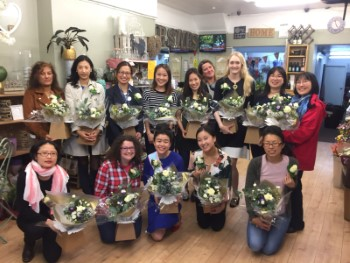 Flower Arranging Private Parties for Hen Parties or Birthday Parties
