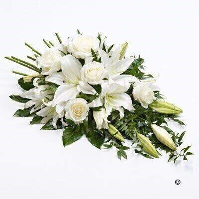 We have a large range of Funeral Sprays. We offer Flower Delivery Liverpool.  We can provide Funeral Sprays for you in Liverpool - Merseyside and can organize Funeral flower deliveries for you Nationwide.  Your Funeral Spray will be handmade - by our professional florists - and delivered to the Funeral Director or Private House if you prefer. Remember Booker Flowers and Gifts for Funeral Flowers delivered in Liverpool - Merseyside and beyond.